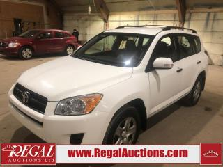 Used 2010 Toyota RAV4 Base 4D Utility 4WD for sale in Calgary, AB