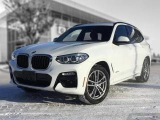 Used 2018 BMW X3 xDrive30i M Sport! Red Merino Leather! for sale in Winnipeg, MB