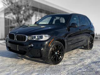 Used 2017 BMW X5 xDrive35d M Sport! Enhanced! Local! for sale in Winnipeg, MB