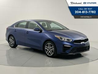 Used 2020 Kia Forte EX+ | Sunroof | Heated Steering | Blindspot | Cross Traffic | Wireless Charger | for sale in Winnipeg, MB
