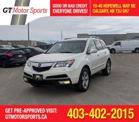 Used 2010 Acura MDX Tech pkg  | $0 DOWN - EVERYONE APPROVED! for sale in Calgary, AB