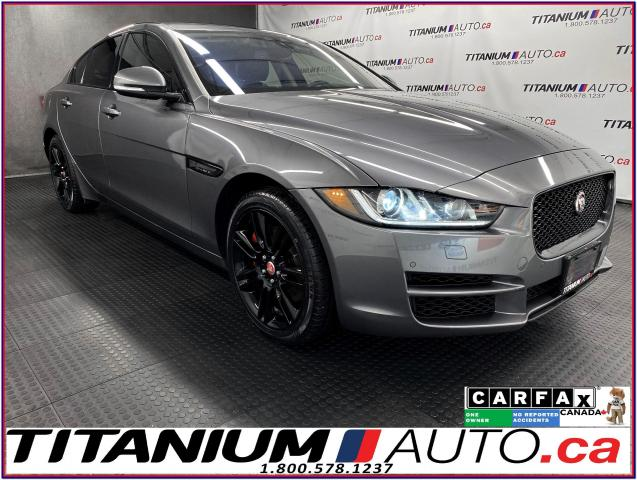 2018 Jaguar XE Prestige+AWD+Cooled Seats+HUD+GPS+Lane Assist+BSM