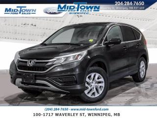 Used 2015 Honda CR-V AWD for sale in Winnipeg, MB