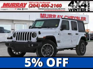 New 2021 Jeep Wrangler 80th Edition for sale in Brandon, MB