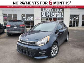 Used 2016 Kia Rio 5-Door EX, Reverse Camera, Heated Seats, Bluetooth. for sale in Niagara Falls, ON