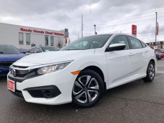 Used 2016 Honda Civic Sedan LX  w/Honda Sensing - Rear camera - Heated Seats for sale in Mississauga, ON