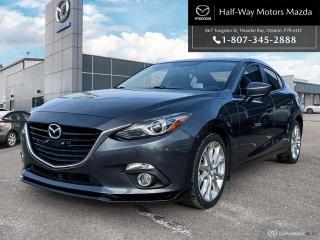 Used 2015 Mazda MAZDA3 GT for sale in Thunder Bay, ON