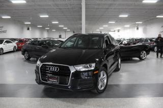 Used 2017 Audi Q3 NO ACCIDENTS I LEATHER I PANOROOF I HEATED SEATS I BLUETOOTH for sale in Mississauga, ON