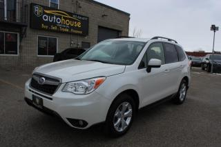 Used 2014 Subaru Forester MANUAL /LIMITED /PANAROOF /BACKUP CAMERA /HEATED SETAS for sale in Newmarket, ON