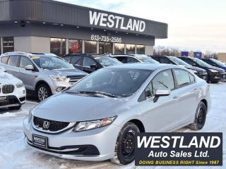 Used 2015 Honda Civic for sale in Pembroke, ON
