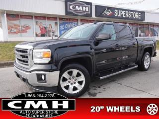 Used 2015 GMC Sierra 1500 SLE  Z71 LEATH P/SEAT HTD-SEATS TOW 20-AL for sale in St. Catharines, ON