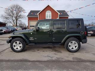 Used 2010 Jeep Wrangler Unlimited Sahara 4WD for sale in Dunnville, ON