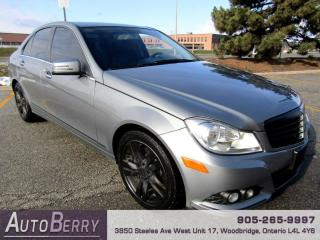 Used 2013 Mercedes-Benz C-Class C300 4MATIC Sport Sedan Accident Free Low KM for sale in Woodbridge, ON