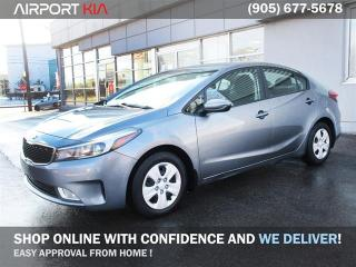 Used 2017 Kia Forte PRE OWNED LX+/ WE ARE OPEN, BOOK YOUR APPOINTMENT/Off Lease No Accidents/Heated seats/ Back-up Camera/ Android Auto/Bluetooth for sale in Mississauga, ON