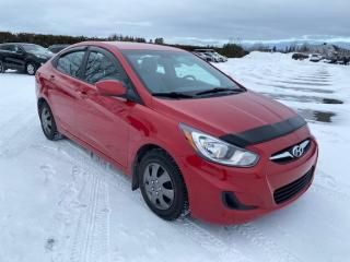 Used 2013 Hyundai Accent Gl **bas km** for sale in Pintendre, QC
