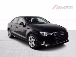 Used 2018 Audi A3 KOMFORT AWD CUIR TOIT AIR CLIMATISE MAGS for sale in St-Hubert, QC