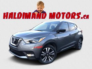 Used 2018 Nissan Kicks SR 2WD for sale in Cayuga, ON