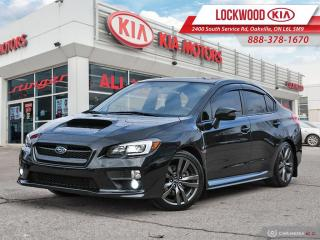 Used 2017 Subaru WRX 4dr Sdn Sport-tech Man | CLEAN CARFAX | NAVIGATION for sale in Oakville, ON