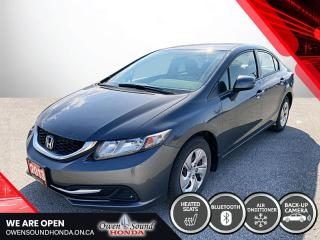 Used 2013 Honda Civic Sdn LX for sale in Owen Sound, ON