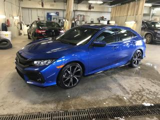 Used 2018 Honda Civic Sport CVT avec Honda Sensing for sale in Gatineau, QC