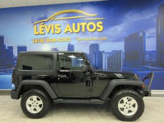 Used 2013 Jeep Wrangler SPORT V6 4X4 MANUEL132800KM JAMAIS ACCID for sale in Lévis, QC
