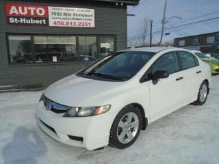 Used 2009 Honda Civic ** 131 000 KM CERTIFIÉ ** for sale in St-Hubert, QC