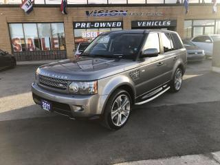 Used 2011 Land Rover Range Rover Sport 4WD 4dr SC-HEATED STEERING WHEEL-NAVIGATION for sale in North York, ON