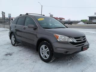 Used 2010 Honda CR-V EX-L for sale in Oak Bluff, MB
