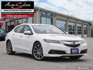 Used 2017 Acura TLX SH-AWD ONLY 105K! **TECHNOLOGY PKG** PREMIUM PKG for sale in Scarborough, ON