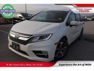 Used 2019 Honda Odyssey w/Rear Entertainment System for sale in Whitby, ON