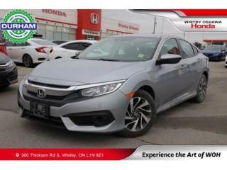 Used 2018 Honda Civic w/Honda Sensing for sale in Whitby, ON