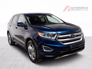 Used 2017 Ford Edge AWD TITANIUM TOIT GPS for sale in Île-Perrot, QC