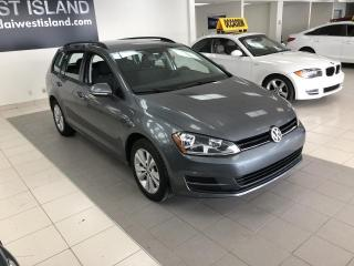 Used 2017 Volkswagen Golf Sportwagen TRENDLINE 4MOTION AUTO A/C BT CRUISE CAM for sale in Dorval, QC