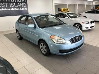 Used 2007 Hyundai Accent GL AUTO A/C GROUPE ÉLECTRIQUE BAS KM for sale in Dorval, QC