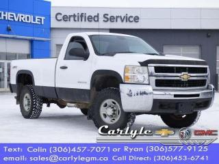 Used 2010 Chevrolet Silverado 2500 HD WT for sale in Carlyle, SK