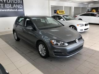 Used 2017 Volkswagen Golf 1.8 TSI TRENDLINE AUTO A/C BT CRUISE MAG for sale in Dorval, QC