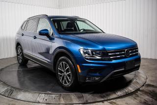 Used 2018 Volkswagen Tiguan COMFORTLINE 4 MOTION CUIR TOIT PANO NAV for sale in St-Hubert, QC