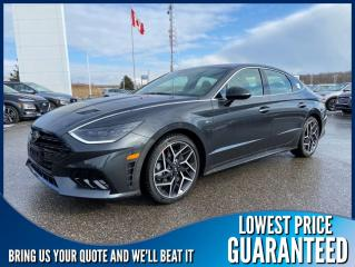 New 2021 Hyundai Sonata N-Line for sale in Port Hope, ON