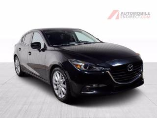 Used 2017 Mazda MAZDA3 GT A/C TOIT GROS ECRAN MAGS for sale in St-Hubert, QC