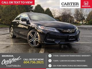 Used 2017 Honda Accord Touring NAVIGATION + LEATHER + HEATED SEATS for sale in Vancouver, BC