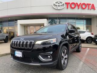Used 2019 Jeep Cherokee 4X4 LIMITED for sale in Surrey, BC