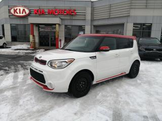 Used 2016 Kia Soul SX *cuir **camera de recul**push start pneu hiver for sale in Mcmasterville, QC