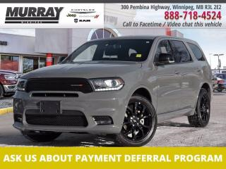 Used 2020 Dodge Durango GT AWD *DVD   Sunroof   Low kms* for sale in Winnipeg, MB