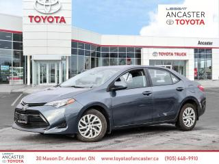 Used 2018 Toyota Corolla LE for sale in Ancaster, ON