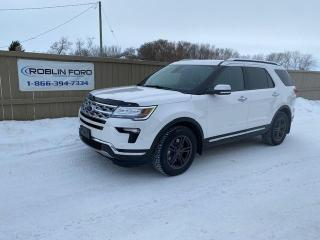 Used 2018 Ford Explorer LIMITED for sale in Roblin, MB