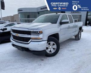 Used 2019 Chevrolet Silverado 1500 LT 4x4 Double Cab | Touchscreen Radio for sale in Winnipeg, MB