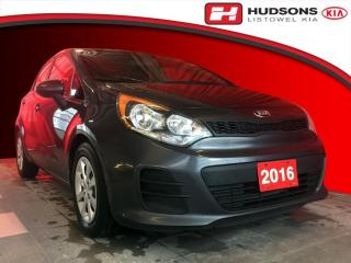 Used 2016 Kia Rio LX Manual Trans. | All Weather Tires | Power Heated Outside Mirrors for sale in Listowel, ON