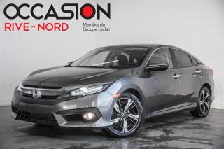 Used 2017 Honda Civic Touring NAVI+CUIR+TOIT.OUVRANT for sale in Boisbriand, QC