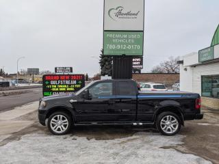 Used 2006 Ford F-150 Lariat HARLEY DAVIDSON EDITION | HEATED SEATS | SUNROOF | LEATHER | CERTIFIED | HEATED SEATS | RARE EDITION for sale in Edmonton, AB