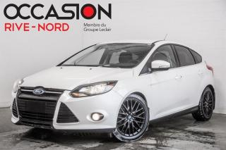 Used 2013 Ford Focus Titanium CUIR+MAGS+SIEGES.CHAUFFANTS for sale in Boisbriand, QC